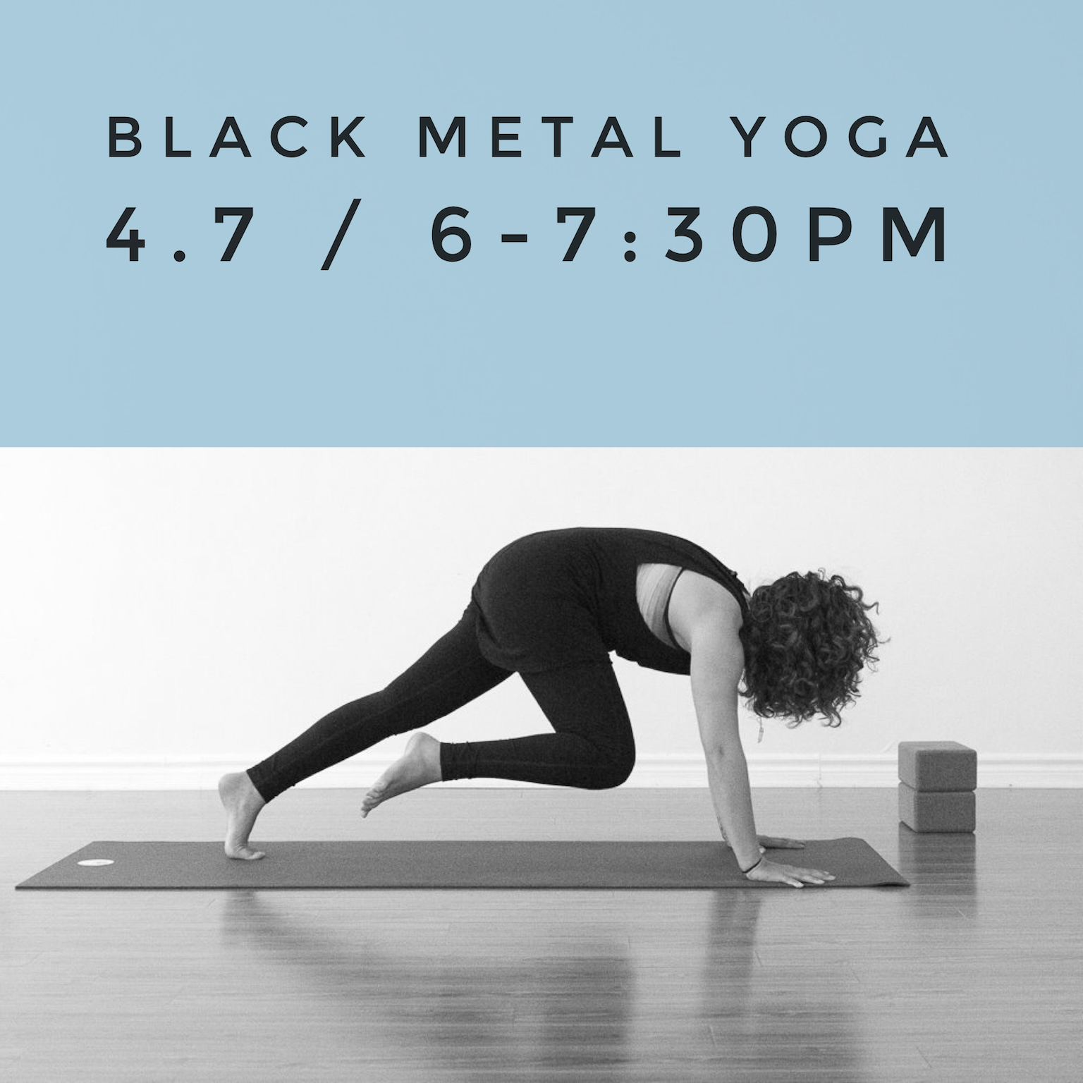 Black Metal Yoga Workshop
