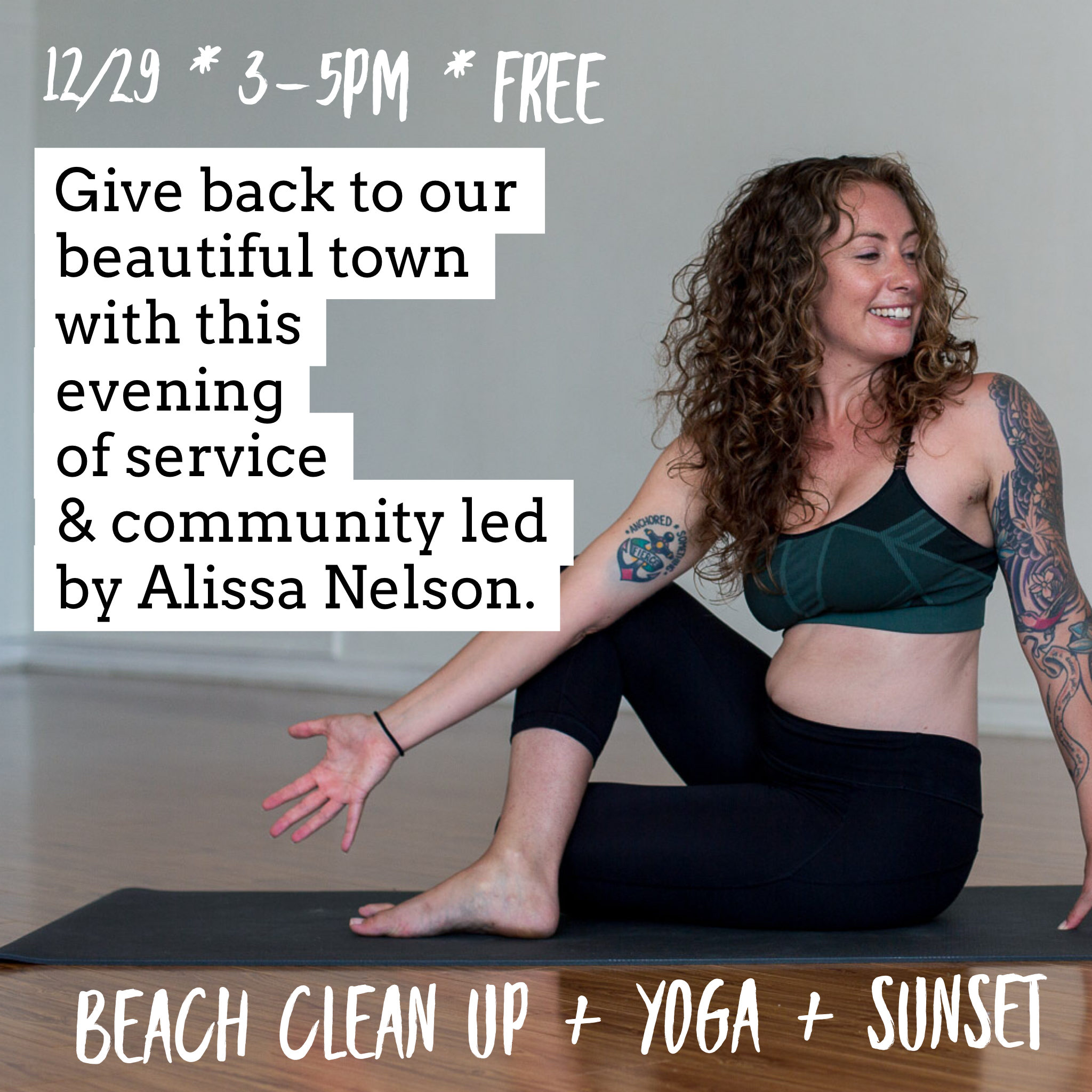 Yoga & Beach Clean Up