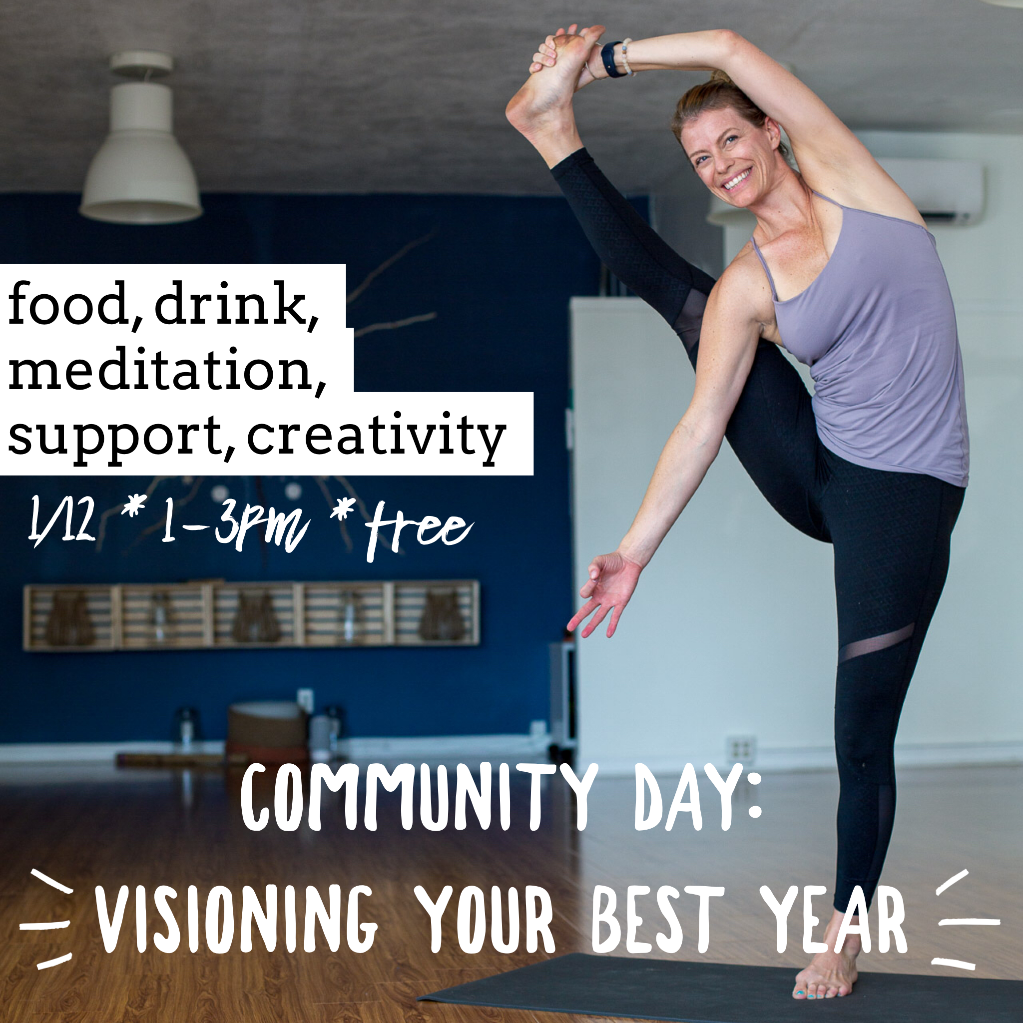 Community Day: Vision Your Best Year